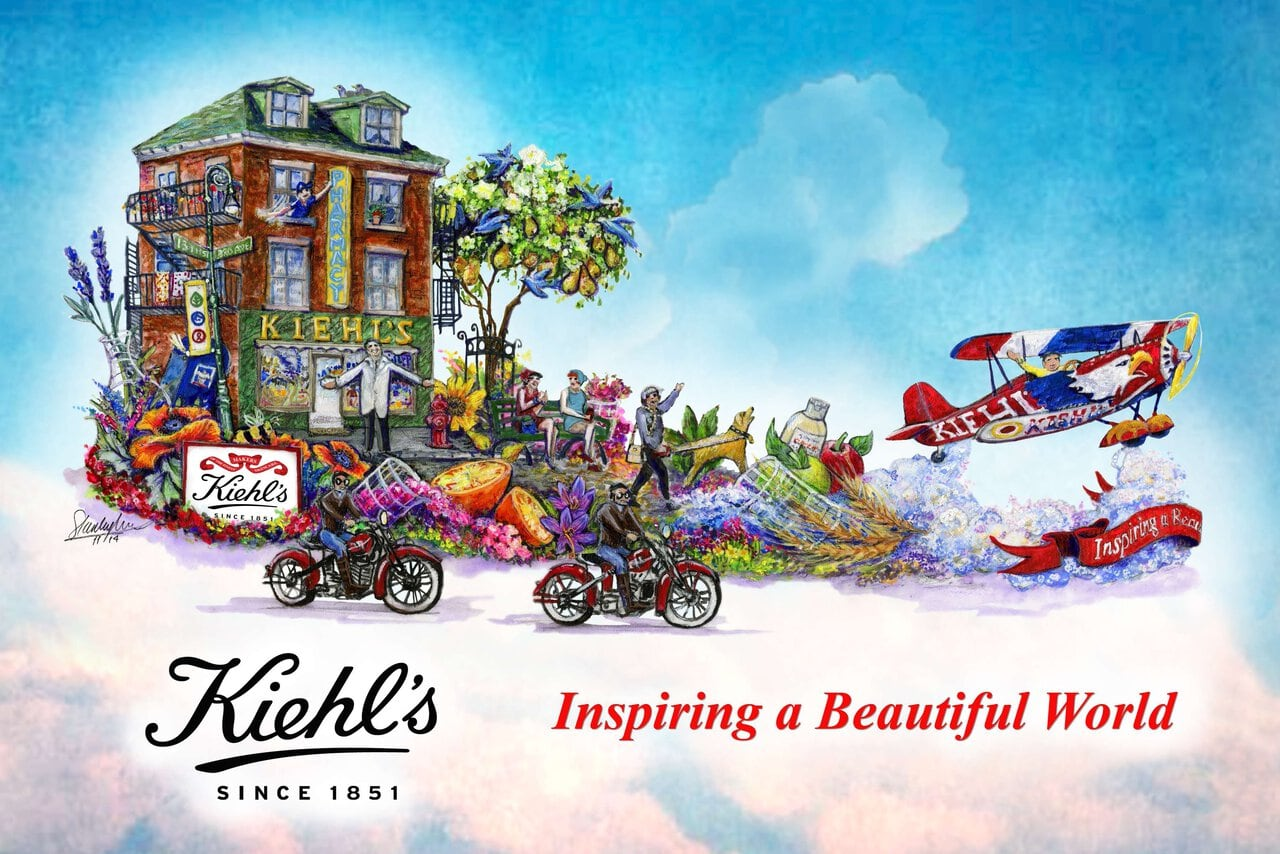 Kiehl's Rose Parade float is all about 'Inspiring a Beautiful World'