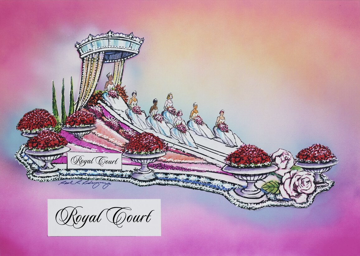 Fiesta Parade Floats unveils Rose Parade floats