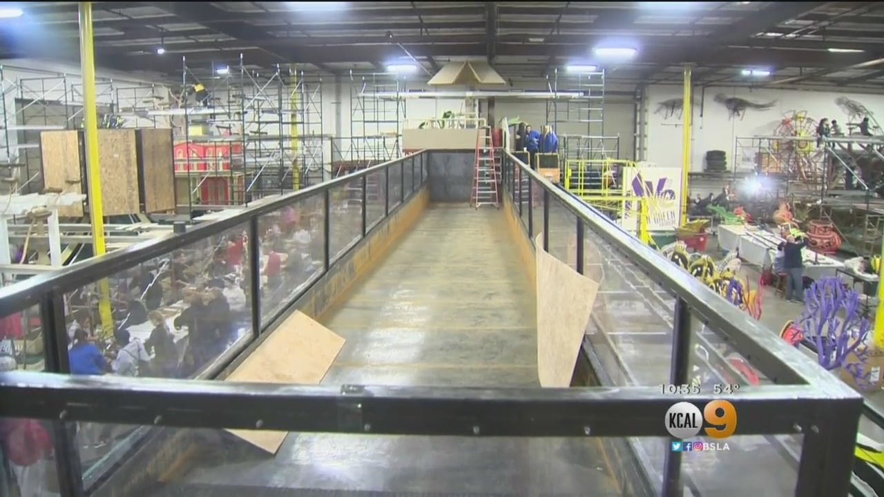 Volunteers In Irwindale Hoping To Set World Record For Longest, Heaviest Single-Chassis Float