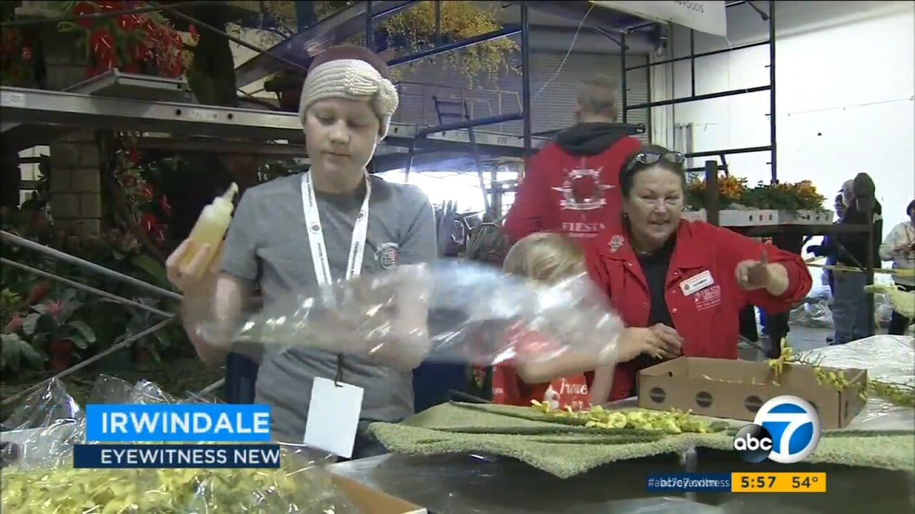 Girl, 13, With Leukemia Helps Design Rose Parade Float to Raise Childhood Cancer Awareness