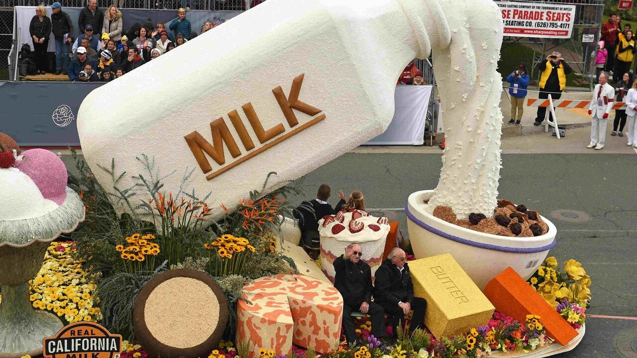 The best floats from the 128th annual Rose Parade