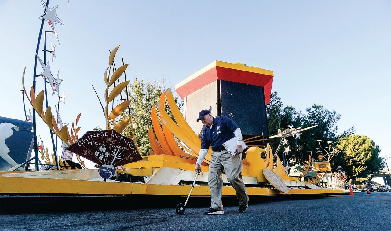 Rose Parade: Float builders put art and magic on wheels