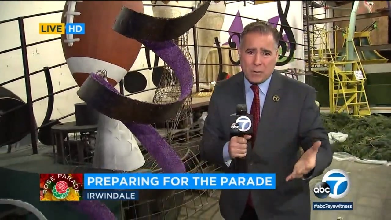 Rose Parade floats: A behind-the-scenes look