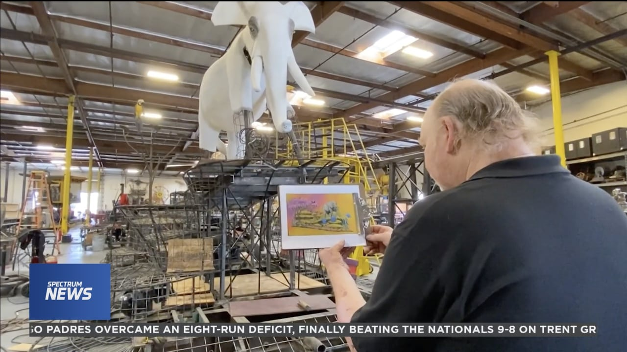 Parade float builder faces steep costs as Rose Parade preparations begin